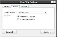 album foto 10 Membuat Album Foto pada Wordpress CMS dengan Plugin NextGEN Gallery