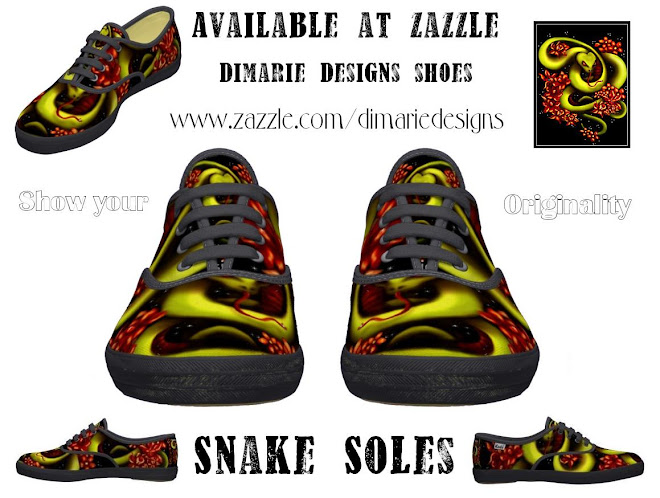Snake Soles by dimarie designs