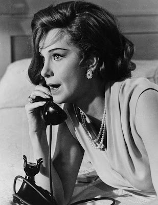 Great profile, great actress. Geraldine Page.