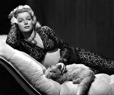 Ann Sheridan. Here, Kitty Kitty.