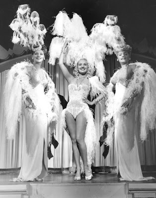 Betty Grable in Diamond Horseshoe.