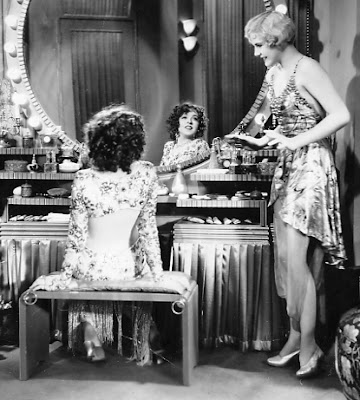 Colleen Moore shows us her back.