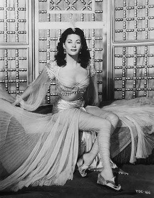 A pre-Munsters Yvonne De Carlo.