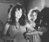 With Beverly Washburn in Spider Baby