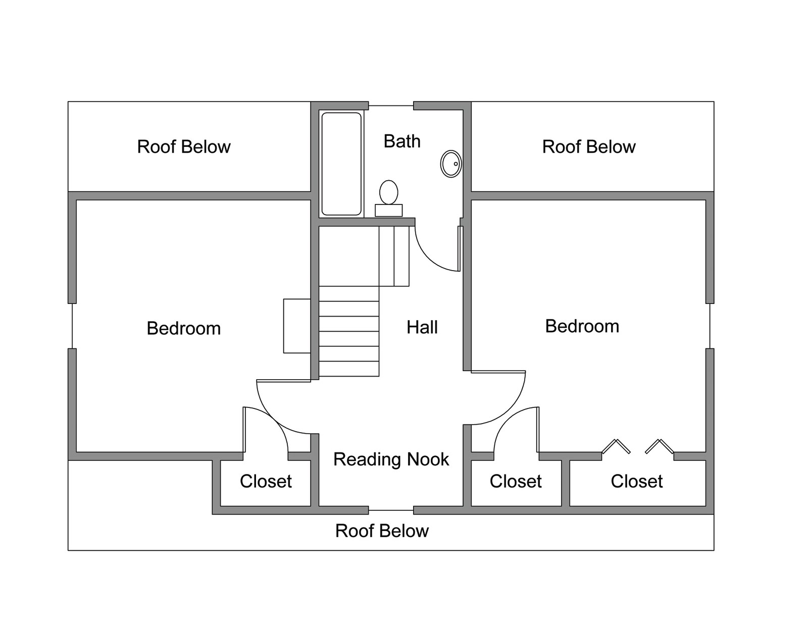 Best damn renovation ever floor plans for Best floor plan ever