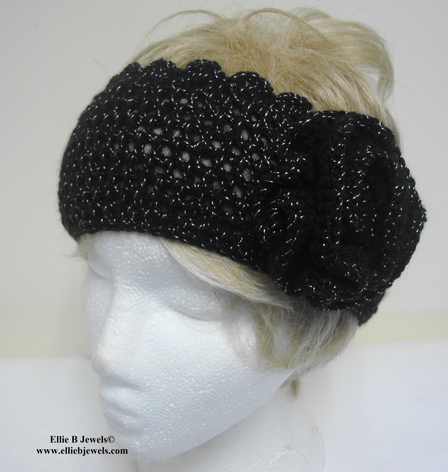 Crochet Ear Warmer : From Beads to Buttons: Crochet Ear Warmer Headbands