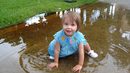 FUN IN THE PUDDLE