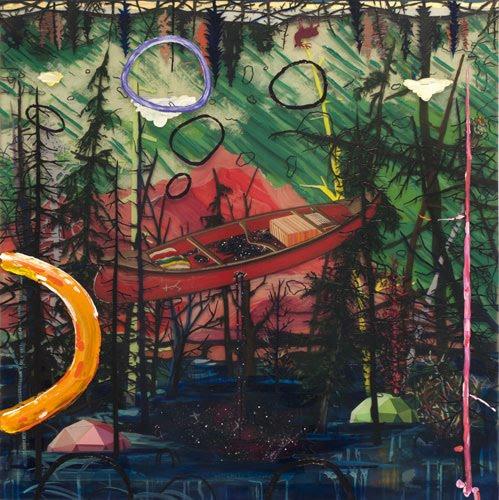 Art Splash: Dave and Jenn - The Magic Circle - Skew