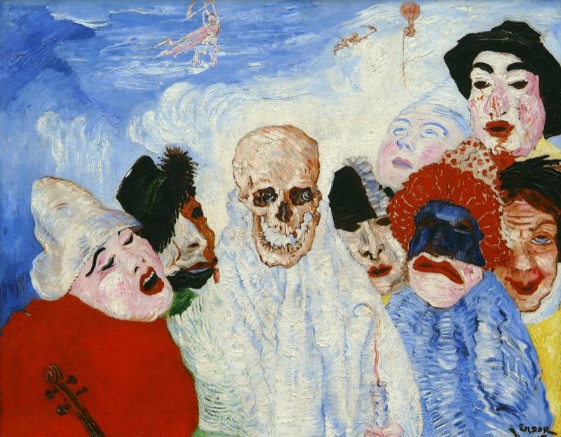 Art splash hareng saur ensor and contemporary art s m for Art et artiste