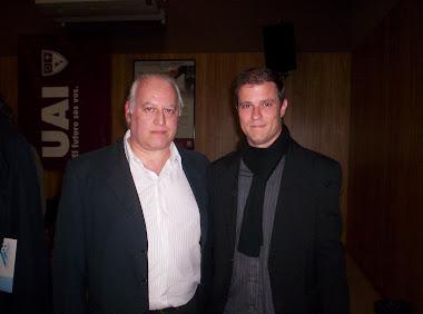 Con Fernando Pacini (TYC Sports)
