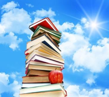 Listagem de títulos adquiridos para Leitura Orientada