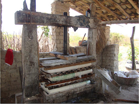 PRENSA DE MASSA DE MANDIOCA (FARINHADA)