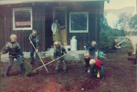1968 - Den første hytta (Litle Kvitla)