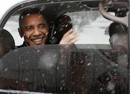Obamatable Snowpresident
