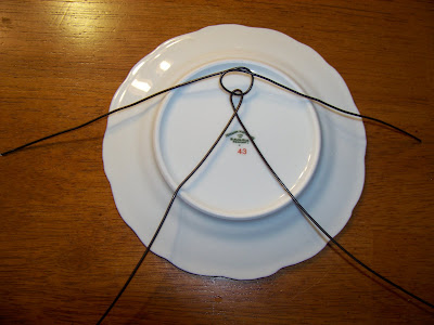 & Attempting to be Domestic: Very Easy DIY Plate Hangers