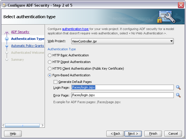 I was using ADF Security wizard to define login page, just following documentation steps and I got strange behavior. When I'm running application, ...