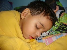 Criança dorme melhor...