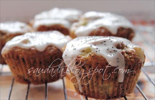 muffiny makowe muffiny ananasowe
