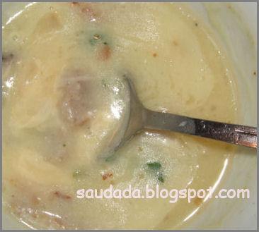 zupa z ziemniaków, zupa z kartofli