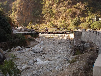 Bridge during way of Shiv Khori