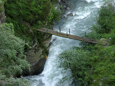 Bridge joining Silence and Nature - Chamba