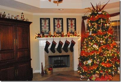 mel tales - Entertainment Center Christmas Decorating Ideas