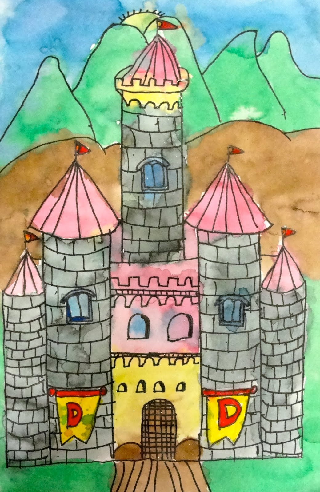 Deep Space Sparkle Art Lessons For Kids Castles In