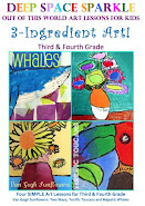 NEW! &quot;3-INGREDIENT ART: LESSONS FOR GRADES THREE &amp; FOUR. 24-PAGE BOOKLET FOR DOWNLOAD. ONLY $5.