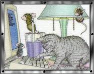 Observa a un gato cuando entra en una habitación por primera vez...