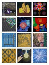 Twelve by Twelve Illumination Theme Quilts