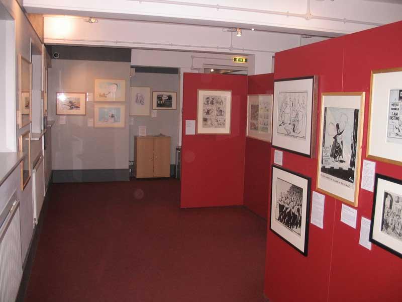 Cartoon Museum   Museums in Bloomsbury, London