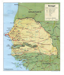 Rota Dakar - Diofior