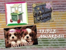 TRIPLE AWARD FROM CINDYRELLAZ