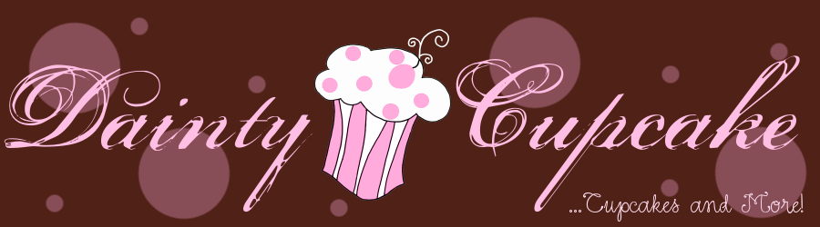 Dainty Cupcake - the place for delicious and cute cupcakes, cakes and more
