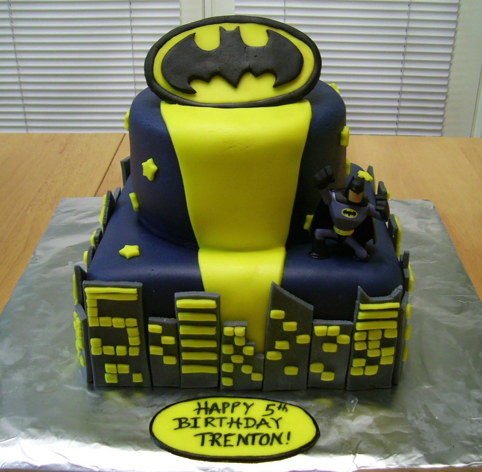 Bellissimo Specialty Cakes Batman Birthday Cake 110