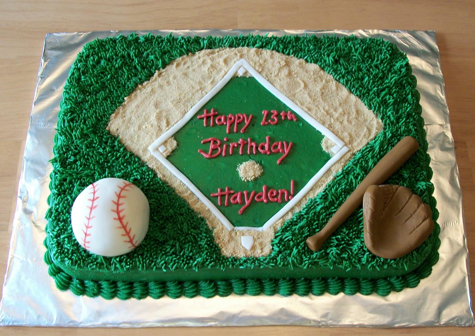 Bellissimo Specialty Cakes Baseball Cake 111