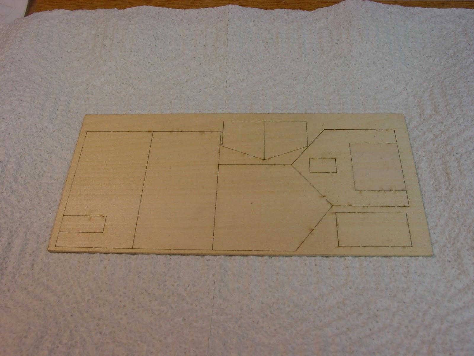 your first laser kit 03 basic barn kit painting the barn inside. Black Bedroom Furniture Sets. Home Design Ideas