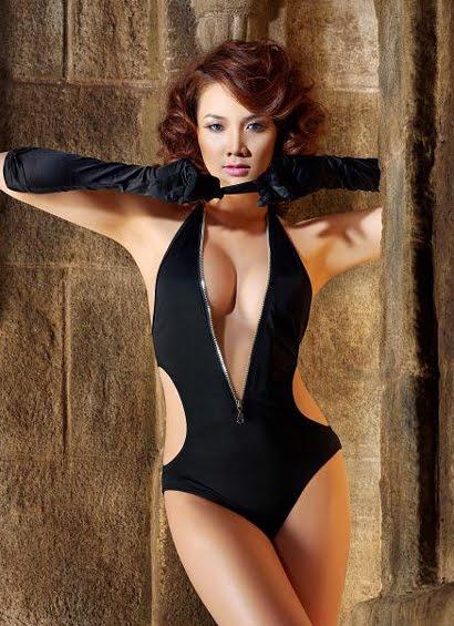 vietnamese model trang nhung actress pics
