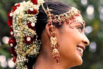 South Indian Weddings: Tamil Nadu Bridal Hairstyles Pictures