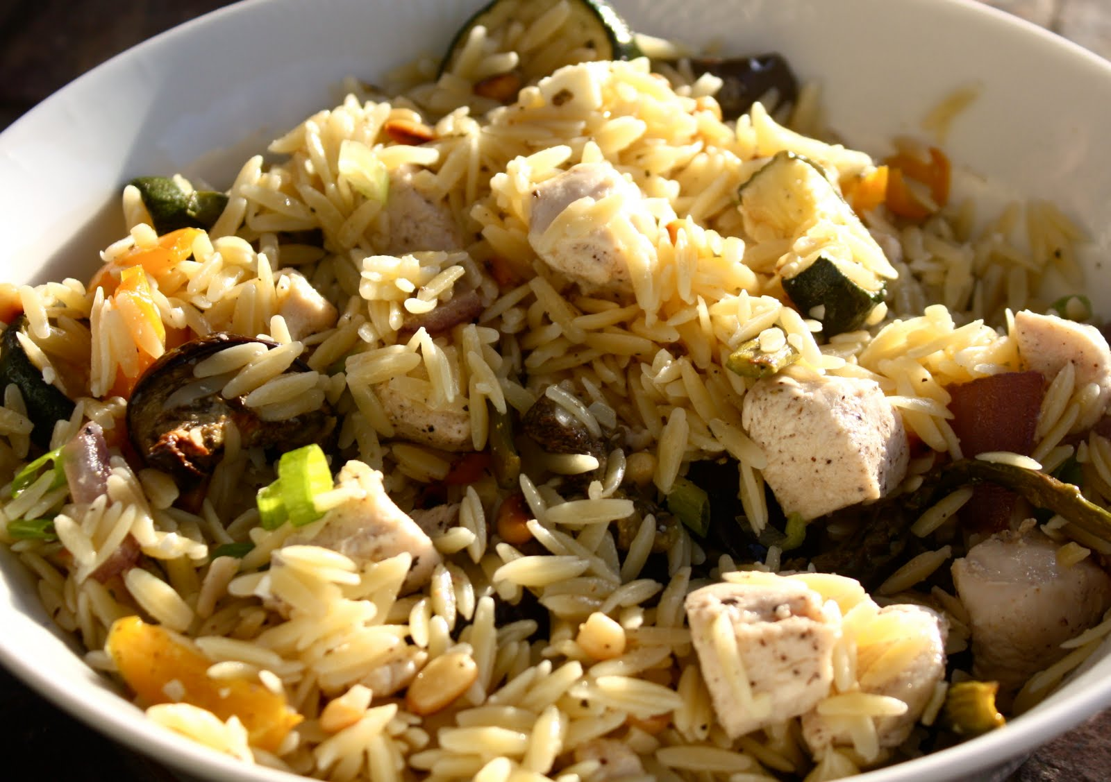 Peachtree Cooking: Orzo with Roasted Vegetables