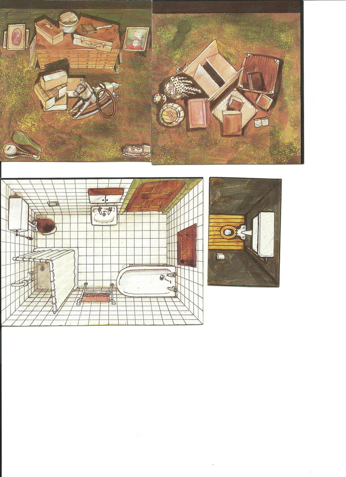 David 39 S Rpg Halls Of Horror Gothic Floor Plans