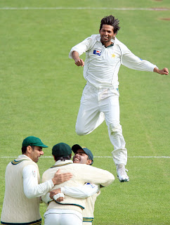 Mohammed Asif was on song, picking up 9 wickets