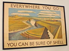 Shell poster ad (Rye Marshes)