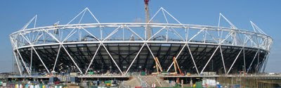 Olympic Stadium, March 2010