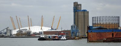 North Greenwich riverside