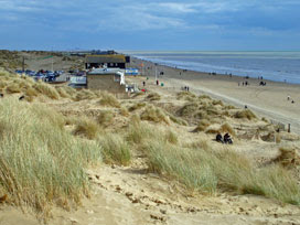 Camber Sands (tide in)