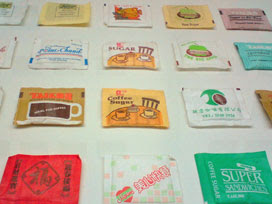 a few of 1000 sugar sachets