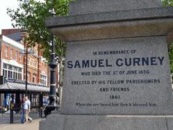 Samuel Curney's obelisk