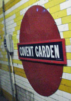 original roundel at Covent Garden