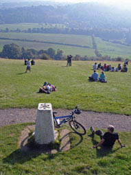Box Hill triangulation point